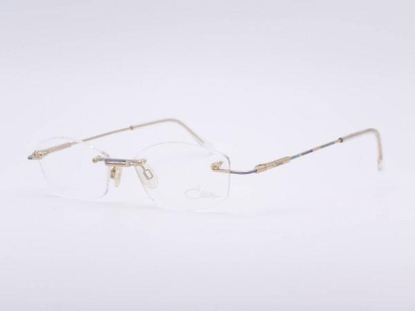 Cazal 412 Rahmenlose Damen Brille mit Federbügeln