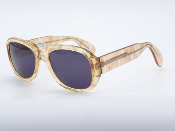ZOLLITSCH 284 Rechteckige Damen Herren Sonnenbrille Frau Mann Kunststoff Rahmen 80er GrauGlasses
