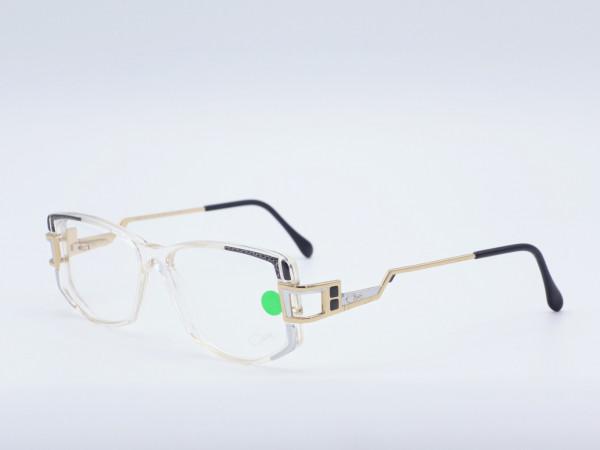 CAZAL Damenbrille Modell 302 Color 107 transparent gold-schwarz Bügel | GrauGlasses