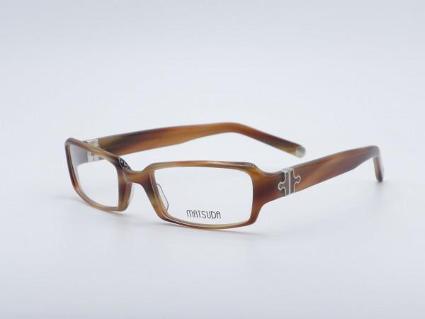 Matsuda Rechteckige Damen Kunststoffbrille Luxury Frauen Herren Fassung 10345 GrauGlasses