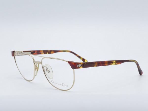 DIOR 2722 Luxus quadratische Männer Brillen Vintage 90er Jahre Metallrahmen GrauGlasses