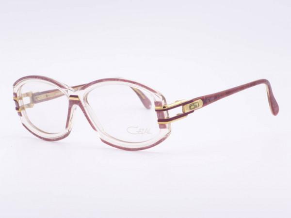 Cazal Transparent Kunstsoff Damen Fassung Modell 198 Vintage Frauen Brille ungetragen neu GrauGlassses