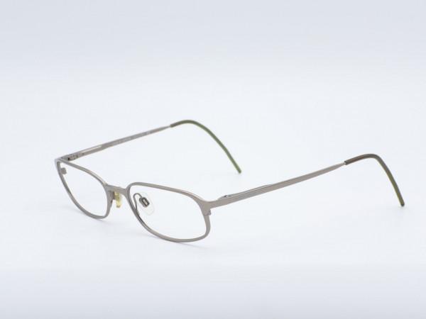Giorgio Armani Silber grau rechteckiges modern Herren Modell 1044 Lesebrille GrauGlasses