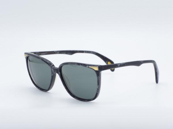 VERSACE 443 Quadratisch Schwarz-Frauen-Sonnenbrille Damen Vintage-Brillen