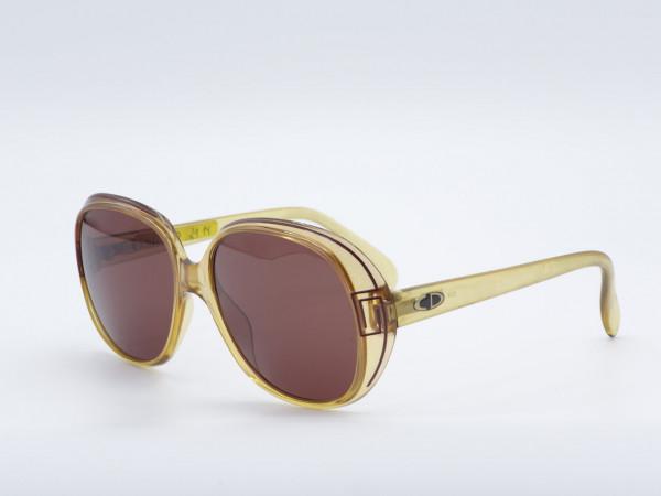 Christian Dior 2114 Oversized Frau Sonnenbrille braun Bernstein Vintage 90er Jahre Fassung GrauGlasses