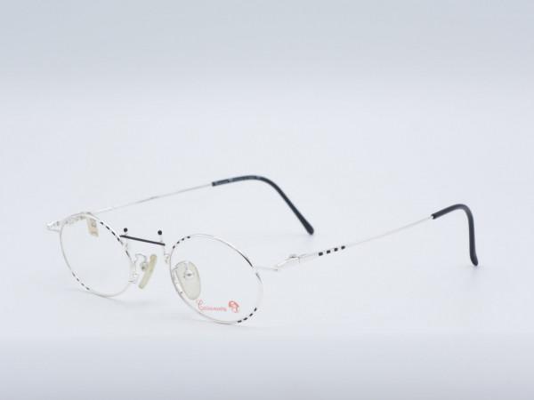 Casanova RVCM7 Silber Oval Männer Brille Metall Vintage Frame GrauGlasses