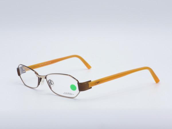 Cazal Concept 503 moderne schmale Damen Brille silberner Metall Rahmen GrauGlasses
