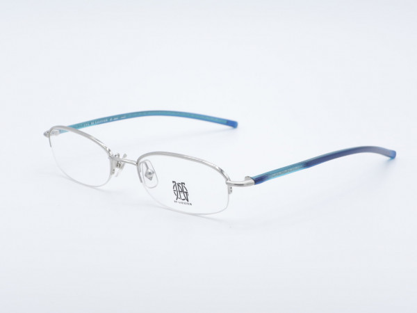 JPG Gaultier 57 Halbrand silberne Frauen Brille GrauGlasses