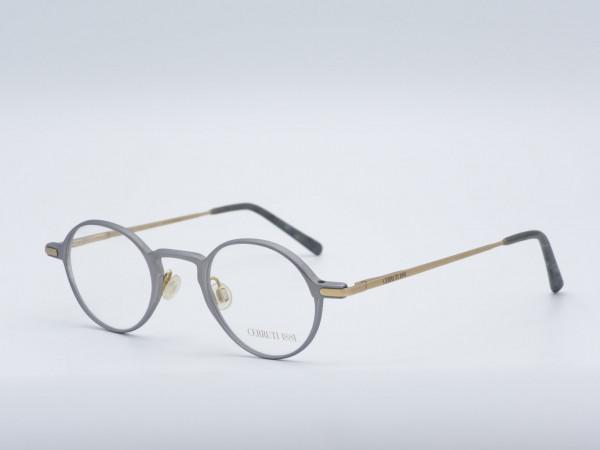 CERRUTI Runde Metall Herren Brille Nerd Fassung Modell 1598 GrauGlasses