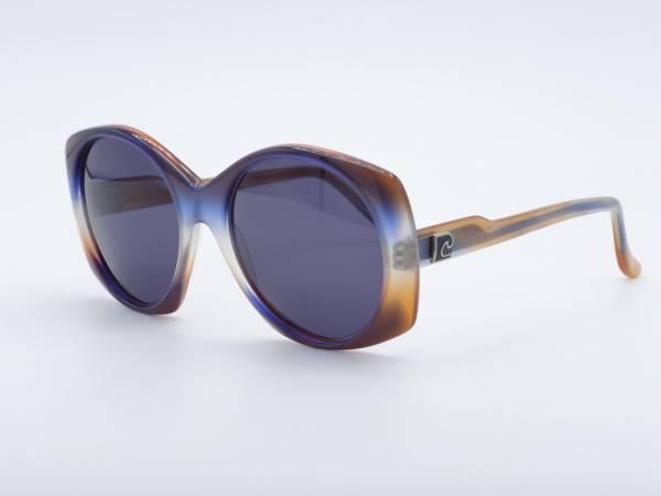 Pierre Cardin 215 Übergroße Butterfly 80er Damen Sonnenbrille GrauGlasses