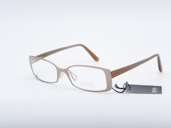 HUGO BOSS 11503 rechteckigen Metall Brille Kupfer Damen Rahmen GrauGlasses