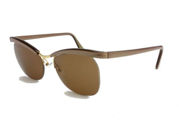 Essel Retro 60er Jahre Vintage Sonnenbrille (Essilor) Modell Nylor ARC Color Metallic Braun