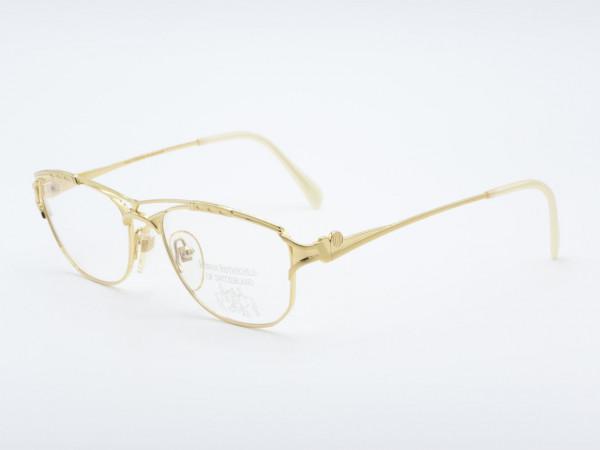 Roman Rothschild 1048 Frau Luxus Goldene Damen Brille Schweiz GrauGlasses