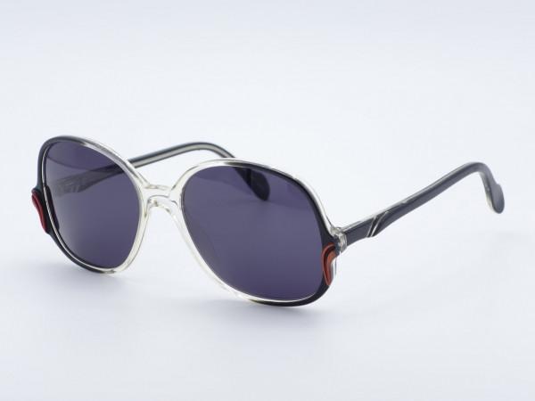 NEOSTYLE COSMIC Frau übergroße Schmetterling Sonnenbrille 80er Jahre Rahmen GrauGlasses