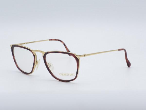 CERRUTI Modell 1501 GP Color D Bernstein Braun Gold Plated GrauGlasses