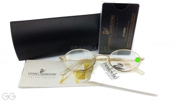Swarovski Damen Brille mit Etui Modell S056 Color 6052