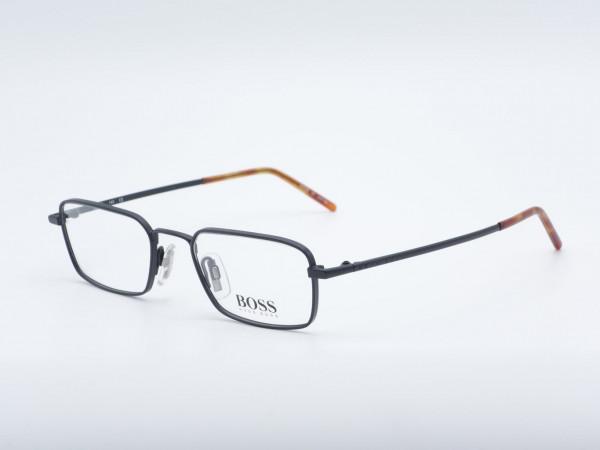 BOSS HUGO 1505 Rechteck Luxus Männer Brille Männer Metall Schwarz Rahmen GrauGlasses
