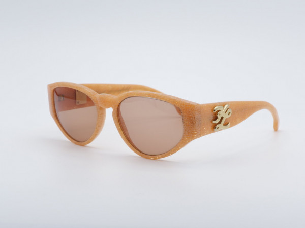 Karl Lagerfeld Frauen Sonnenbrille Aprikose Damen Brille 3607 Plastik