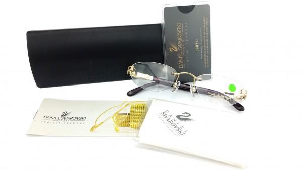 Swarovski Brille mit Etui Modell S149 Color 6053