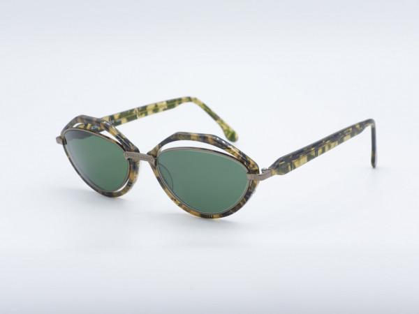 La Roche S90 Cateye Damen Sonnenbrille Augenbrauenrahmen GrauGlasses