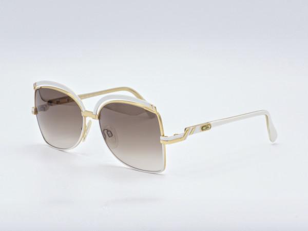 CAZAL 240 Oversized Butterfly Quadrat Golden Damen Metall Rahmen Braun Verlauf Gläser Neu GrauGlasses