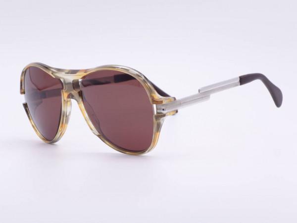 Sammlerstück Cazal Vintage Sonnenbrille Rarität seltenes Model 802 ungetragen Hip-Hop Stil 80er Jahre GrauGlasses