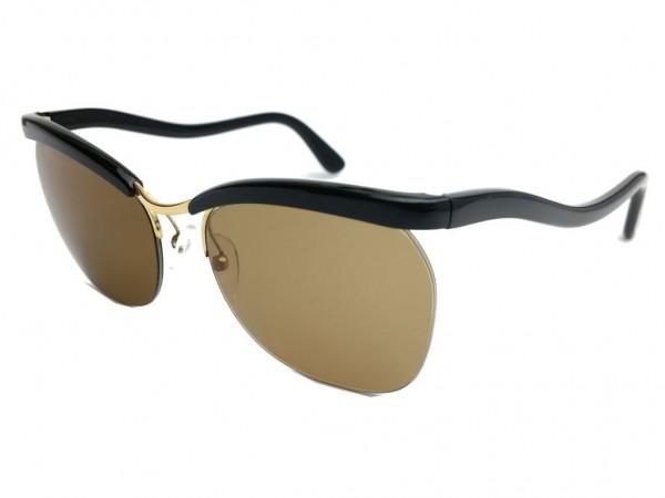 Essel 60er Vintage Sonnenbrille (Essilor) Modell Nylor ARC Color Schwarz