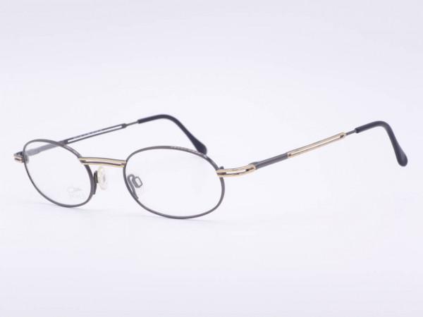 Cazal ovale Damen Brille Metall Rahmen Schwarz Gold Modell 1142 Color 894 GrauGlasses