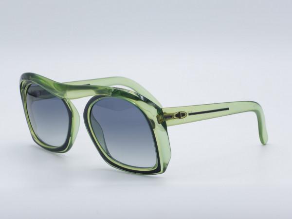 DIOR 2043 Oversize Butterfly Grün Sonnenbrille Special Unique Frau Herren Fassung GrauGlasses