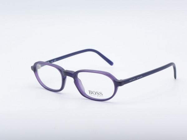 HUGO BOSS 1524 ovale lila Frauen Brille Moderne Damen Fassung GrauGlasses