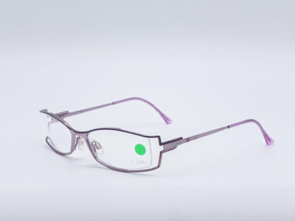 Cazal lila Metall Damen Brille Individuelle Rechteckige Form Design Federbügel GrauGlasses