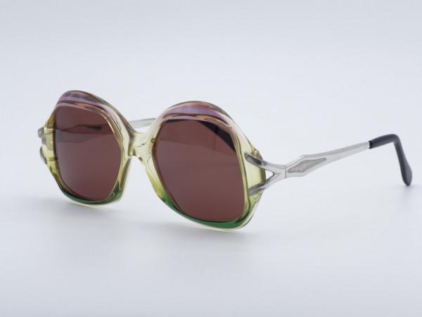 MCS Lewis Jet Line Damen 80er Vintage Sonnenbrille Metrisch Oversized Damenfassung