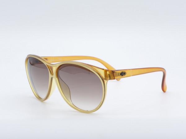 DIOR 2157 Übergroße Frau Sonnenbrille goldenen Vintage Rahmen GrauGlasses