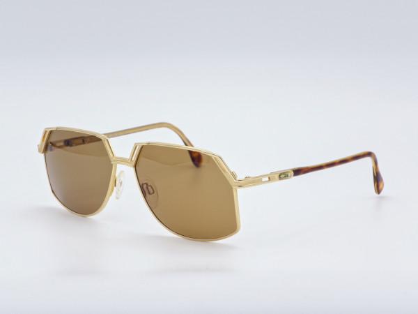 CAZAL Sonnenbrille Modell 738 in gold mit braunen Gläsern | GrauGlasses