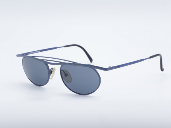 CARRERA 5229 Blaue Balken Sonnenbrillen Herren Damen Brillenfassung GrauGlasses