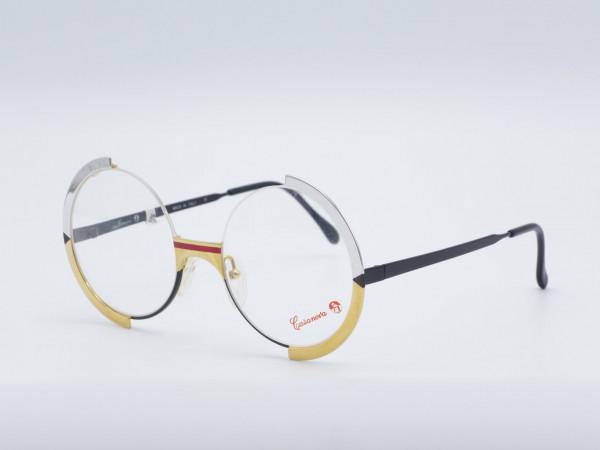 Casanova FC4 Runde seltene Frau Brille Metallrahmen Vintage Gold Silber GrauGlasses